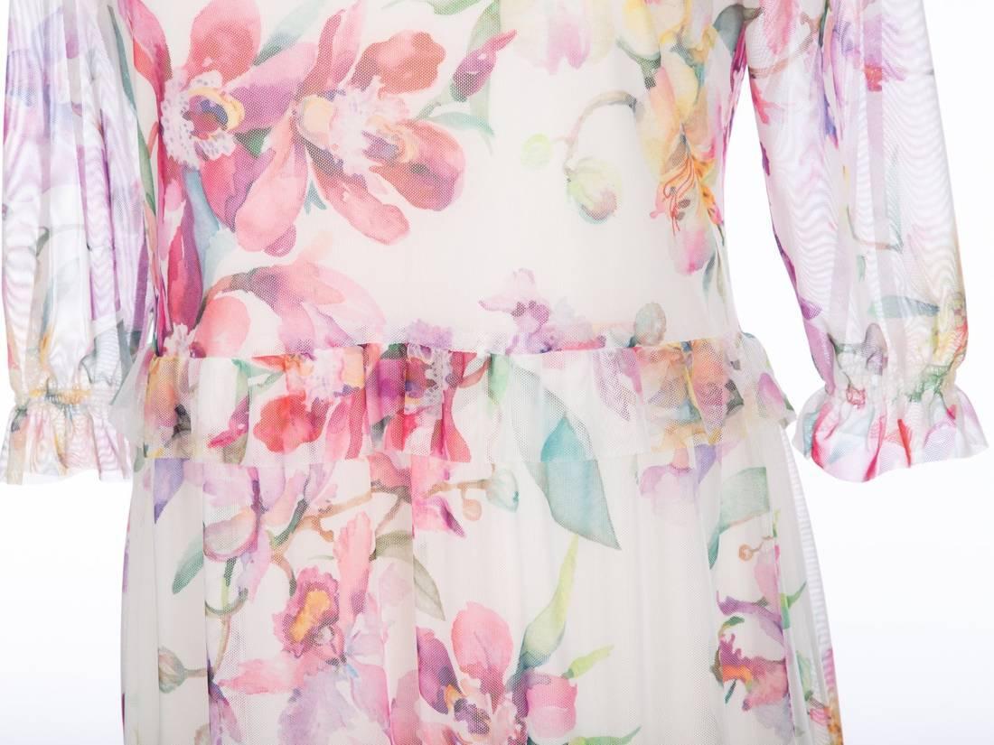 Romantyczna sukienka z falbanami